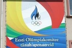 Eesti Olümpiakomitee reklaambanner