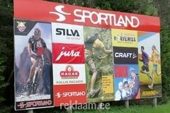Sportlandi suur reklaamsein