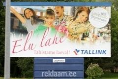 Tallinki välireklaam 6x3