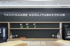 Tammsaare Koolituskeskuse freesitud tähed