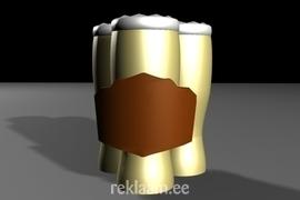 3D Tootereklaami kavand