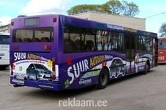 Põhjakeskuse reklaambussid
