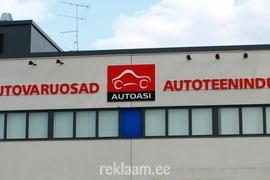 Autoasi PVC-st freesitud reklaamtähed