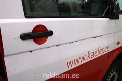 Kaefer bussi ebakvaliteetsed kleebised