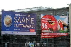 Euro Saame tuttavaks reklaambanner