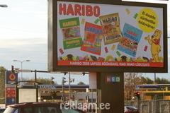 Haribo Välireklaam - 6x3
