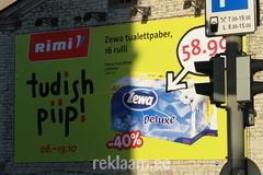 Tudish Piip reklaam - välireklaampind