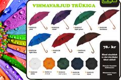 Logotrade vihmavarju kampaania