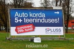 5+ Autoteenindus reklaamtreiler