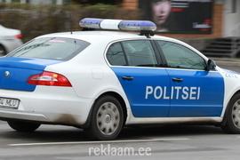 Politseiauto kleebised