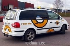 Tartu Taksopargi VW Sharani üleni kiletamine