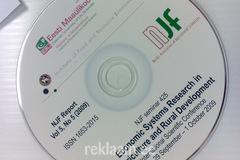 Eesti Maaülikooli trükitud CD plaat