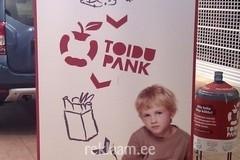 Toidupank - Reklaamikampaania RollUP