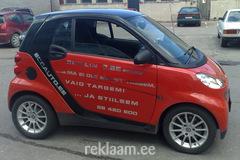 Ecoauto Smart kleebisreklaam autol