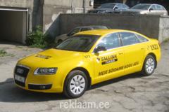 Tallink Takso Audi kleebistamine