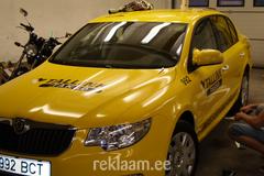 Tallink Takso škoda kleebistamine