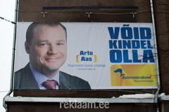 Reformierakonna reklaam - Arto Aas