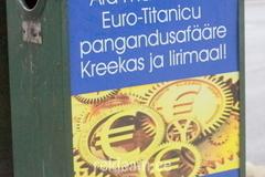 Eurovastane reklaam prügikastil.