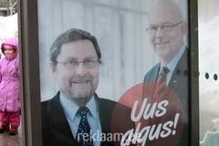 Peeter Kreitzberg / Mart Meri valimisreklaam