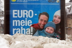 Eurouudised - tänavareklaam