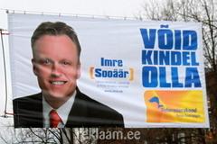 Imre Sooäär - valimisreklaam