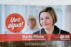 SDE valimisreklaam - Barbi Pilvre