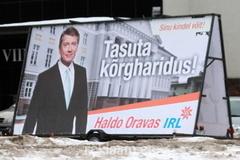 Haldo Oravas valimisreklaam reklaamtreileril.