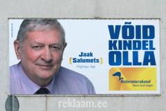 Reformierakonna kampaania - Jaak Salumets