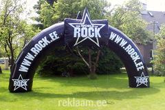 Saku Rock reklaamkaar