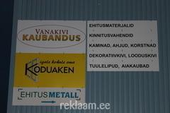 Reklaamsildid PVC