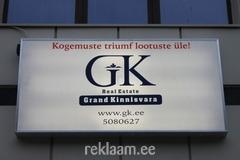 GRAND KINNISVARA VALGUSREKLAAM
