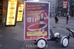 Promobike välireklaam