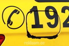 Tallink Takso - katkised autokleebised
