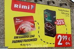Rimi kaardi reklaam
