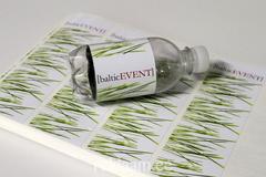 Baltic Event kleebisetiketid pudelile.