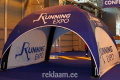 Running Expo täispuhutav reklaamtelk