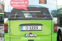 SEB reklaam liinibussil