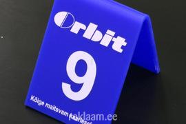 Orbit reklaamiga lauanumber