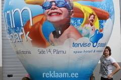 Tervise Paradiisi reklaampall