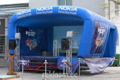 Nokia täispuhutav reklaamlava