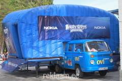 Nokia liikuv täispuhutav lava