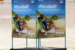 Mint reklaam rannas