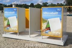 Reklaam Pärnu rannas