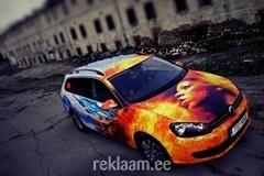 3M Eesti ülekleebitud reklaamauto