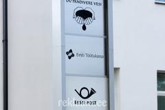 Fassaadisilt logodega