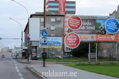 Välireklaampind Pärnu maanteel