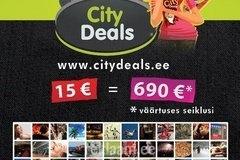 Kujundustööd l CityDeals