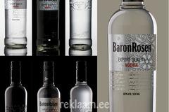 BaronRosen vodka. Foto+retush