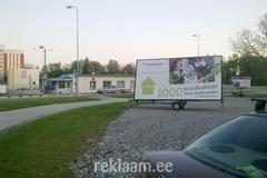 Hansaplant ja Pindi Välireklaam reklaamtreileritel Sakus