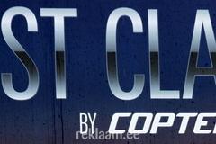 Copterline Fast Class slogan